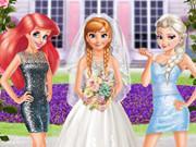 Frozen And Ariel Wedding game