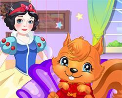 Snow White Care Squirrel game
