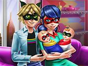 Ladybug Twins Family Day game