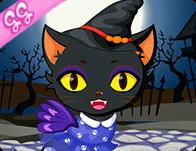 Cute Kitty Cat Halloween game