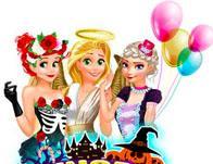 Princess Bffs Halloween Spree game