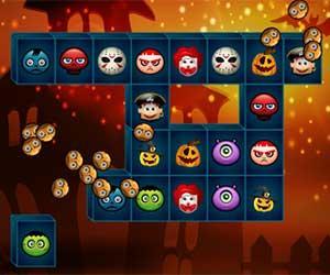 Halloween Mahjong Challen game