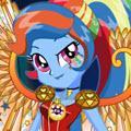 Crystal Wings Rainbow Dash game