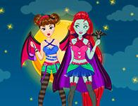 Vampire Doll Creator game
