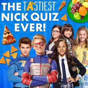 Nickelodeon: The Tastiest Nick Quiz Ever Quiz game
