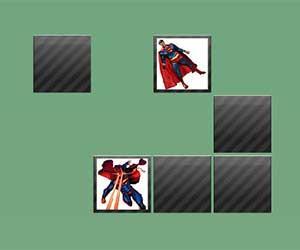 Superman Memory game
