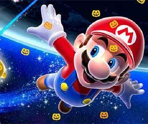 Super Mario Pumpkin game
