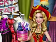 Dove Halloween Dolly Dress Up game