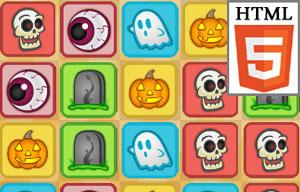 Match Halloween game
