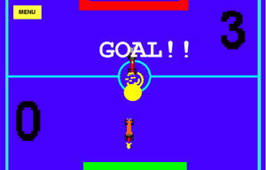 Racing Car Soccer game