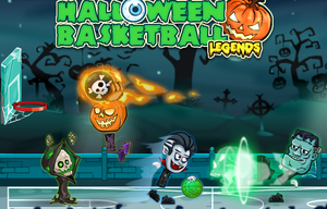 Halloween Basketball Legends game