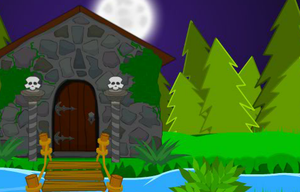 Halloween Forest Escape game
