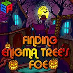 Halloween Finding Enigma Trees Foe game