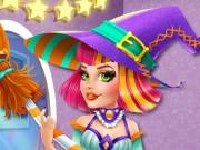 Audrey Halloween Witch game