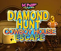 Diamond Hunt 3 : Cowboy House Escape game