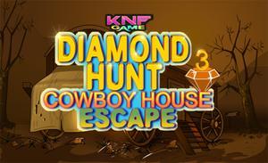 Diamond Hunt 3 : Cowboy House Escape game