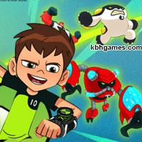 play Ben 10 Escape Route