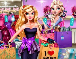 play Elsa Frozen: Shopping Fever