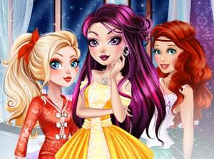 play Princesses Bff'S Night Makeover