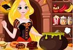 play Rapunzels Halloween Snacks