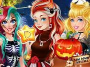play Princesses Halloween Challenge