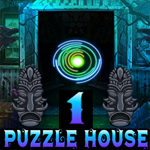 play Night Puzzle House Escape 1