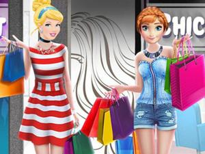 play Princesses Shopping Spree