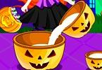 play Jack O Lantern Halloween Cupcakes