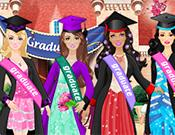 play Barbie Graduation Dress Up