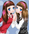 play Polka Dot Friends Dress Up Game
