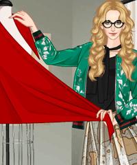 play Fashion Designer Dress Game