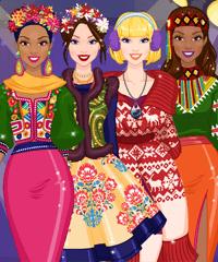 play Around The World 2 Fashion Game
