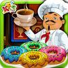 play Coffee Donut Cooking - Dessert Maker