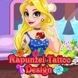 play Rapunzel Tattoo Design