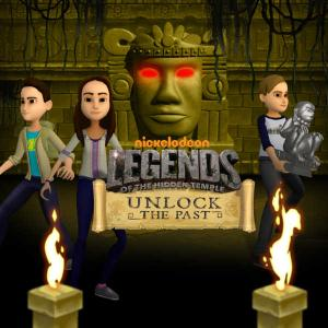 play Legends Of The Hidden Temple: Unlock The Past Puzzle