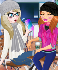 play Anna And Elsa Chit Chat Dress Up Game