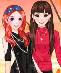 play Autumn Breeze Dress Up Fashion Game