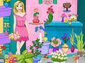 play Rapunzel Flower Shop Cleaning