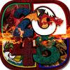 "play 2048 + Undo Number Puzzles ""For Dragons & Beasts"""