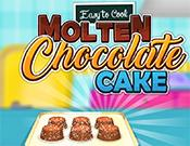 play Easy To Cook Molten Chocolate Cake