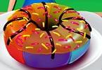 play Chef Camillas Delicious Rainbow Donut