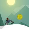 Monkey Motocross Winter game