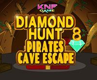 play Diamond Hunt 8 - Pirates Cave Escape