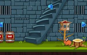 play Blue Castle Escape
