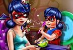 play Ladybug Mommy Toddler Feed