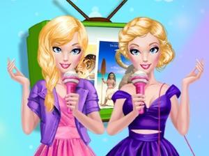 play Barbie'S Reporter Dream Job