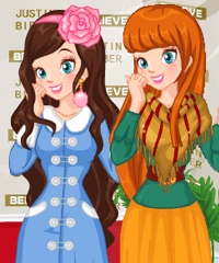 play Red Carpet Photo Dress Up Game