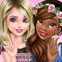 play Elsa And Tiana Bffs