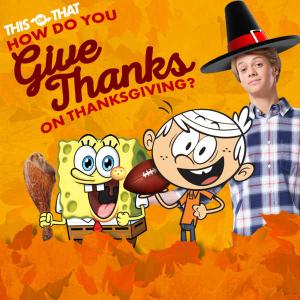 Nickelodeon: How Do You Give Thanks On Thanksgiving? Quiz game