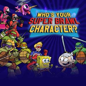 Nickelodeon: Who'S Your Super Brawl Character? Quiz game